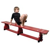 Sure Shot Balance Bench - Red - 1.8m