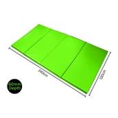 Sure Shot Foldable Mat - Green - 2.4m x 1.2m x 60mm