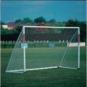 Samba Hockey Goal - White - Junior - 10 x 6ft