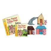 Three Little Pigs Story and Character Set