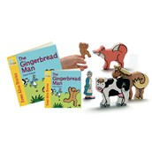 Gingerbread Man Story and Character Set