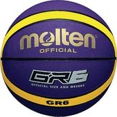 Molten BGR Basketball - Purple/Yellow - Size 6