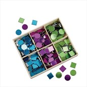 Mirrored Mosaic Tiles - Pack of 300