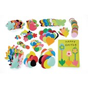 Easter Paper Shapes - Pack of 400
