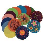 Assorted Binca Circles - Pack of 50