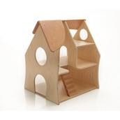 Millhouse Under 2's House with Bigjig Toys Dolls Furniture Set