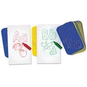 Alphabet Rubbing Plates
