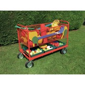 Go Anywhere Equipment Trolley - Red