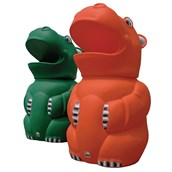 Hippo Bin - Orange