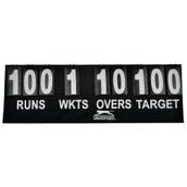 Slazenger Cricket Scoreboard - Black/White