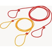 Double Dutch Skipping Rope - Red/Yellow - 16ft - Pair