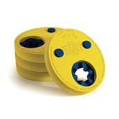 Zoggs Arm Discs - Yellow - Pack of 4