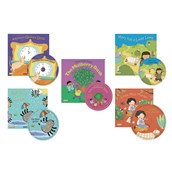 Big Classic Books with Holes and CD Set 2 - Pack of 5