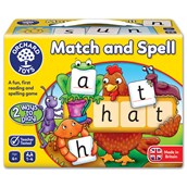 Match and Spell Board Game
