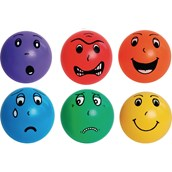 Emotion Face Balls - Assorted - Pack of 6