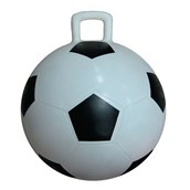 Soccer Hopper Ball - Black/White - 450mm