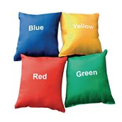 Colour Beanbags - Assorted - Pack of 4
