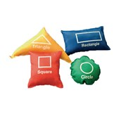 Shapes Beanbags - Assorted - Pack of 4