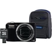 Praktica Luxmedia Z212 Camera Kit - Black