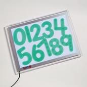 Silishapes® Number Dots
