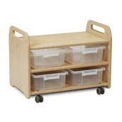 Millhouse Easel Stand and Storage Trolley