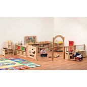 Millhouse Imagination Zone with Wicker Baskets - pack of 10
