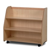 Millhouse Mobile Trolley With Display- Mirror Back