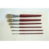 Pro Arte Junior Artist Brushes - Filbert - Pack of 6