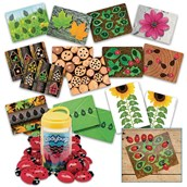 Lady Bugs Counting Kit