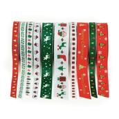 Festive Ribbon - Pack of 10
