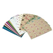 Patterned Craft Paper - A4 - Pack of 30