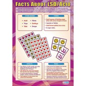 Facts about LSD Acid Poster