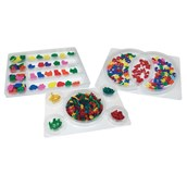 See Through Sorting Trays - Pack of 3