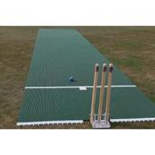 Flicx Cricket Match Pitch - Green - 16.12 x 1.8m (Junior)
