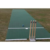 Flicx Cricket Match Pitch - Green - 18.12 x 1.8m (Colt)