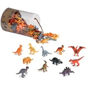 Terra by Battat Miniature Dinosaurs in a Tube - Pack of 60