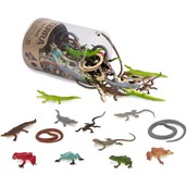 Terra by Battat Miniature Reptiles in a Tube - Pack of 60