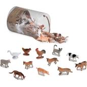 Terra by Battat Miniature Farm Animals in a Tube - Pack of 60