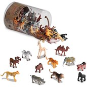 Terra by Battat Miniature Wild Animals in a Tube - Pack of 60