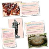 Thinking History Cards - Romans