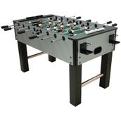 Mightymast Lunar Football Table - Silver/Grey - 5ft