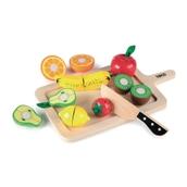 Tidlo Chunky Wooden Cutting Sets - Fruits