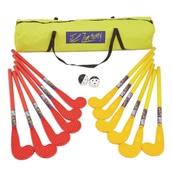 Eurohoc Zone Hockey Set - Red/Yellow