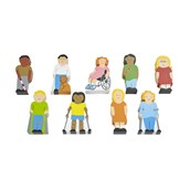 Sri Toys Wooden People With Disabilities