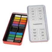 Classmates Watercolour Tin - 18 Block