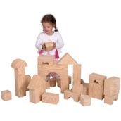 Edushape Big Wood-Like Blocks - Pack of 32