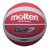 Molten BGR Basketball - Red/Silver - Size 7