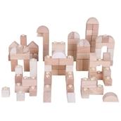 Natural Click Blocks - Pack of 100