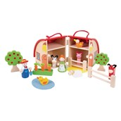 Bigjigs Toys Mini Farm Playset
