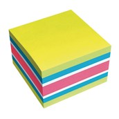 Brilliant Cube Sticky Notes Cube - Mix 1 - 75 x 75mm